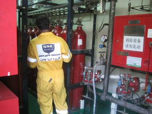 Firefighting System Inspection 600